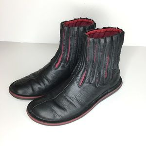 Camper Sz EU 37 Black Leather Boots